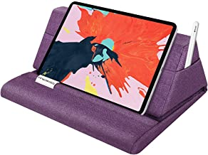 "پایه ایستاده بالش MoKo Tablet، Holder Pillow Bedpt مناسب تا 11 ""Pad Fit with New iPad Air 3rd Gen iPad iPad Mini 5 Gen، iPad Pro 11 2018 / 10.5 / 9.7، Air Mini 1 2 3 4، Samsung Galaxy Tab، Purple"