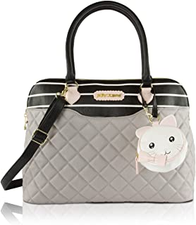 3pc Downtown Multi-Function Diaper Tote Bag with Changing Mat