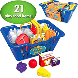 The Learning Journey Play and Learn - Shopping Basket – Toddler Toys & Gifts for Boys & Girls Ages 3 and Up – Award Winning Toy