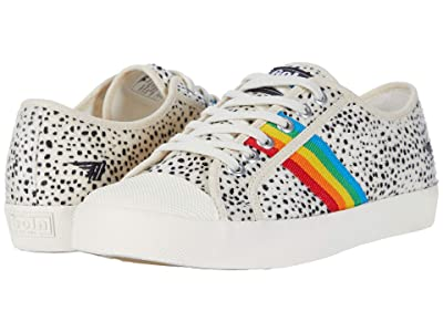 Gola Coaster Rainbow Cheetah (Off-White/Multi) Women