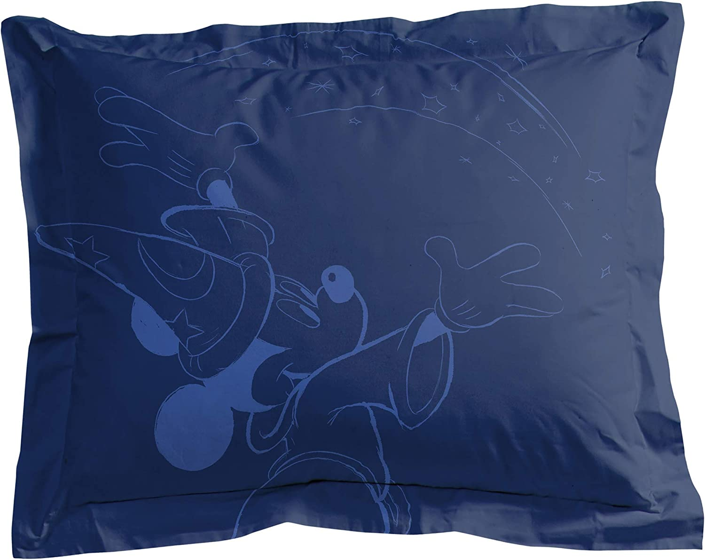 Jay Franco Disney Raleigh Mall Fantasia 1 Single Sham Soft High order Kids - Super Beddi