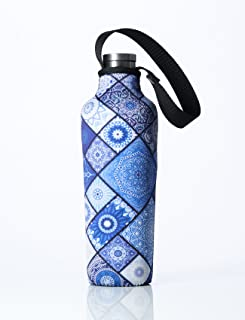 BBBYO Neoprene Insulated Water Bottle Holder Bag Case Pouch Carry Cover for Corkcicle - 17oz/500ml and 25oz/750ml Sizes. Fits Corkcicle Stainless Steel Bottles. Bottle NOT Included