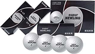 IYUT supurNEWLING High Performance Golf Balls 3-Piece 12 Premium Tour Soft Golf Balls Ultimate Straight Long Distance Balls 1 Dozen GTS
