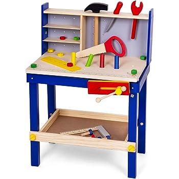 Playtive Junior Werkbank 91 Teile Amazon De Spielzeug