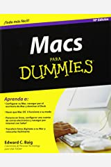 Macs Para Dummies (Spanish Edition) Paperback