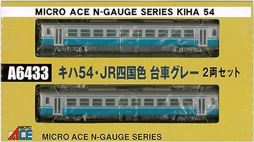 aquí tiene la última N medidor A6433 KIHA 54 54 54 · JR Shikoku Color y la camioneta gris 2-car set  venta caliente