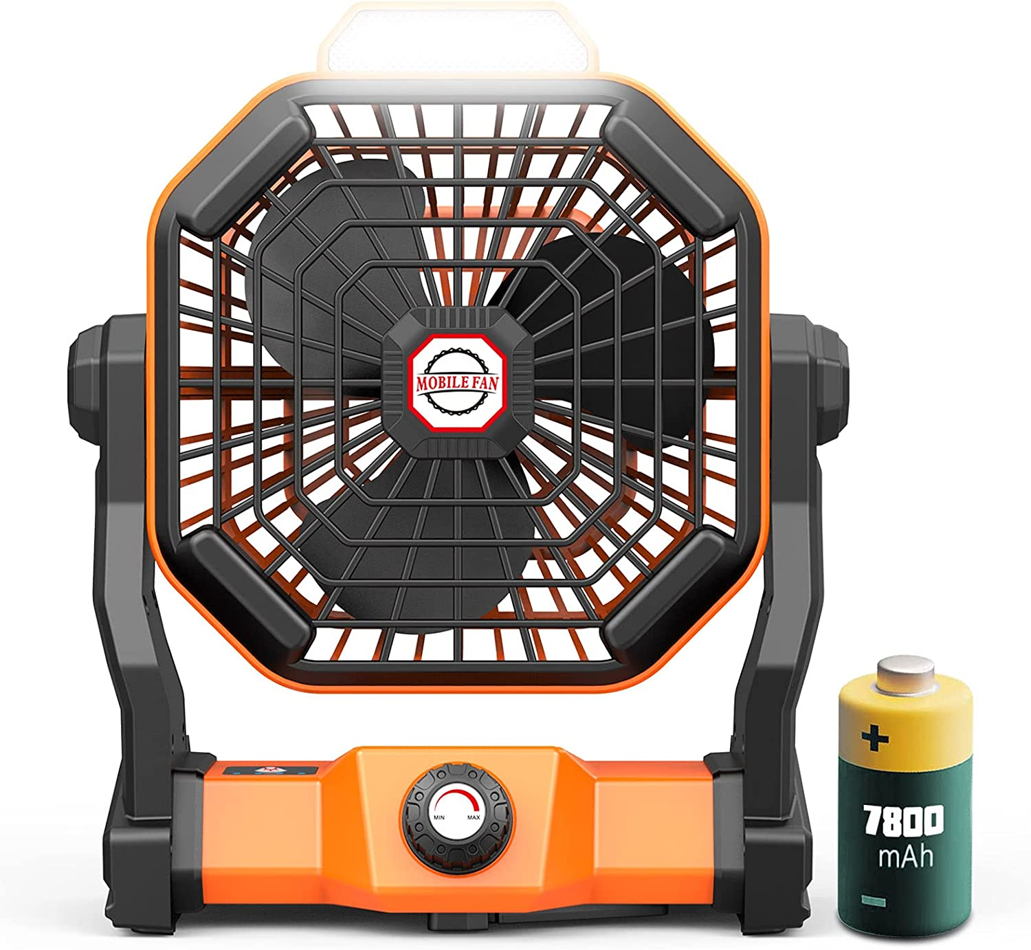 Battery Max 80% OFF Powered Fan Portable Max 57% OFF Personal 8-inch Rechargeable