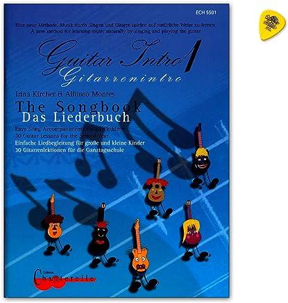 Guitar Intro 1 el Cancionero – Fácil canción acompañado para niños pequeños y grandes 30 Guitarra