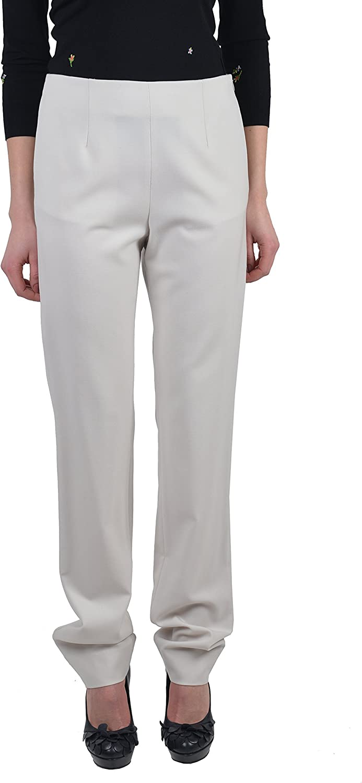 Maison Martin Margiela Women's Beige Wool Casual Pants US 6 IT 42