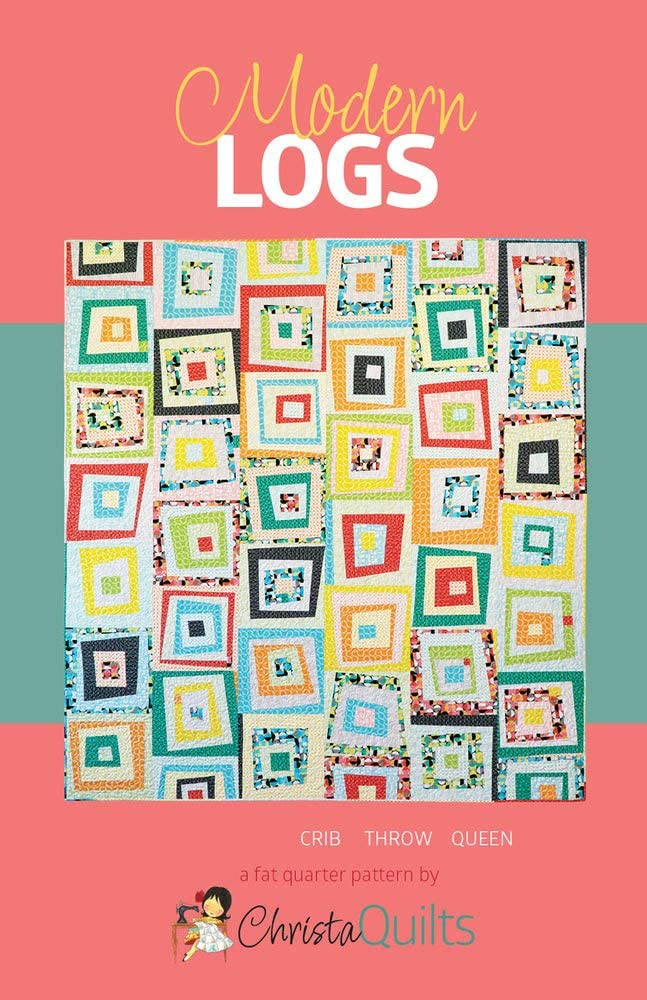 Christa Challenge the lowest price of Japan ☆ Quilts Modern Logs None 1 year warranty Quilt Pattern