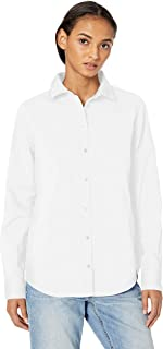 Women's Classic-Fit Long-Sleeve Poplin Shirt