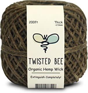 why use hemp wick