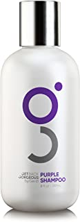 Purple Shampoo for Blonde Hair by GBG – Blonde Shampoo Instantly Eliminate Brassiness & Yellows - Brighten Blonde, Silver & Grey w/Celebrity Stylist Created Purple Toning Shampoo – 8oz
