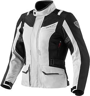REV'IT VOLTIAC Ladies Jacket - Silver Black - 38, Plata