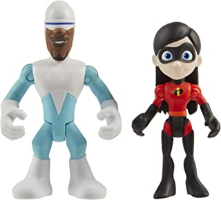The Incredibles 2 Frozone & Violet Junior Supers Action Figure 2-Pack, Approximately 3