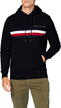 Tommy Hilfiger Hilfiger Logo Hoody Sweat-Shirt Homme