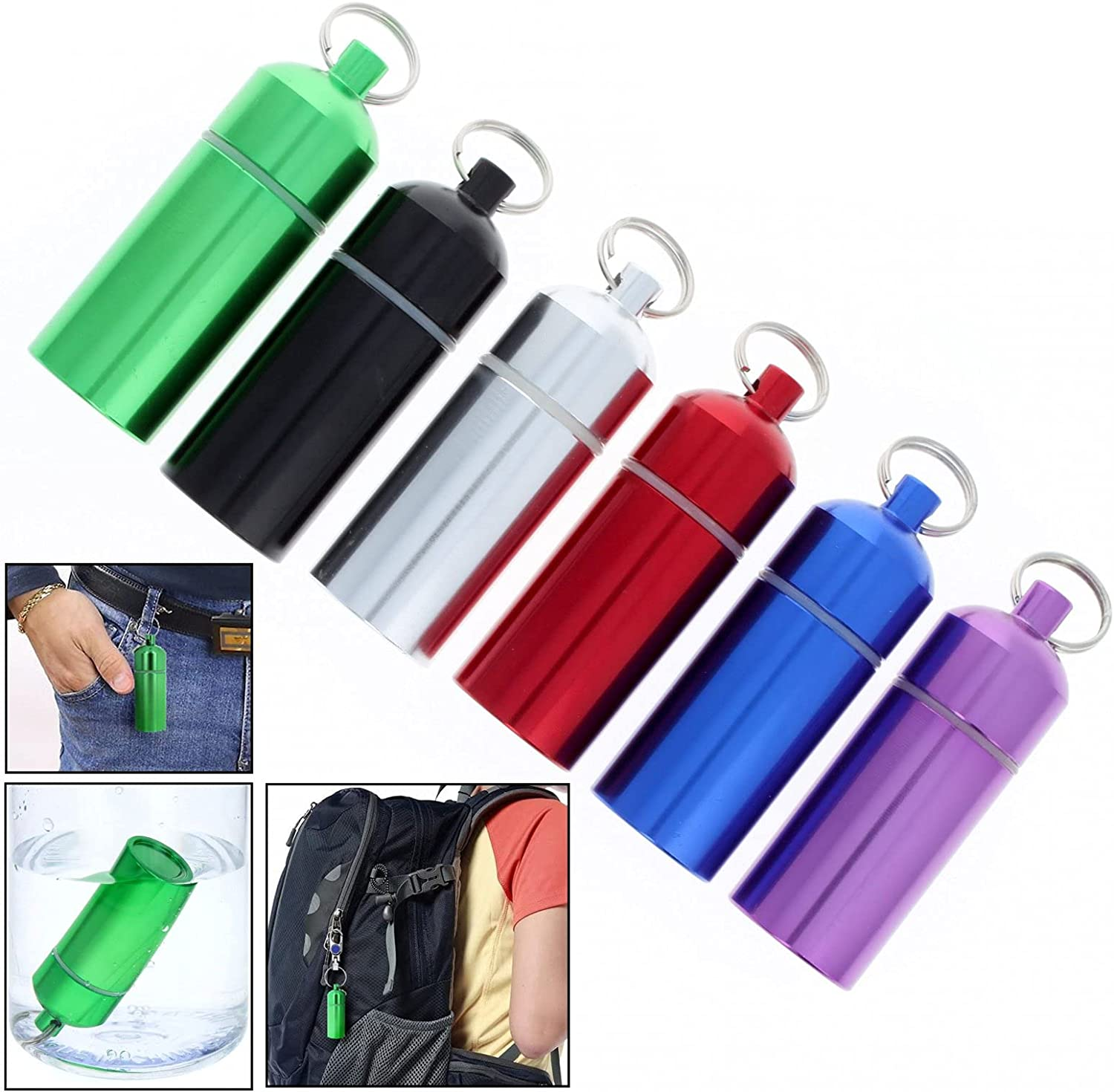 ToolTreaux Spring new work one after another Key Chain ID Pill Holder Interior Ri Plastic Coated Max 50% OFF O