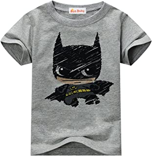 Toddler T-Shirt for Boys Graphic Short Sleeve Cotton Tee