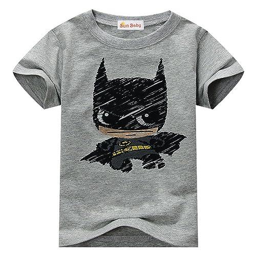 0d8567c2 Toddler T-shirt for Batman Fans Superhero Graphic Short Sleeve Cotton Tee