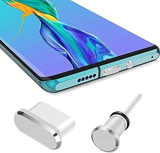مجموعة سدادات iMangoo من النوع C مضادة للغبار، مقبس نوع C ومقبس سماعة أذن USB C 3.5 مم + مقبس سماعة رأس متوافق مع Samsung ...