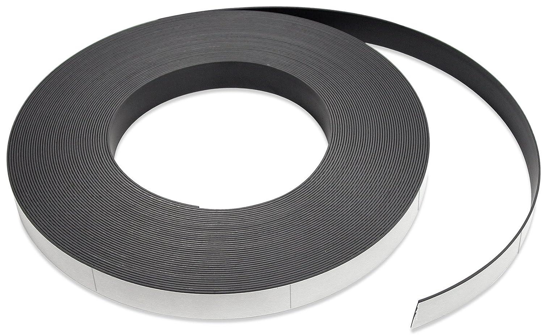 Flexible Magnet Strip with White Vinyl 32