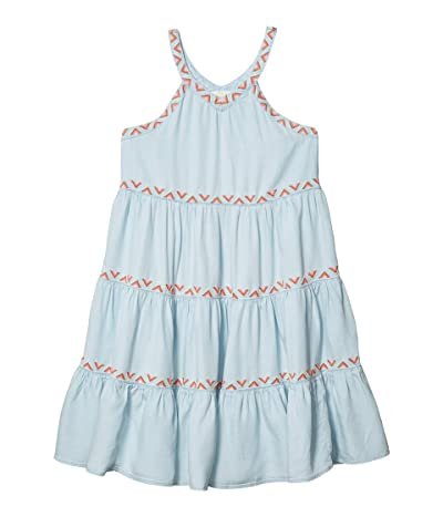 PEEK Saraphina Dress (Toddler/Little Kids/Big Kids) (Indigo) Girl