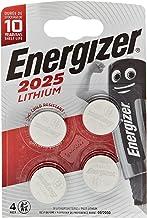 Energizer CR2025 Piles Bouton au Lithium Argent 2025 - Pack de 4