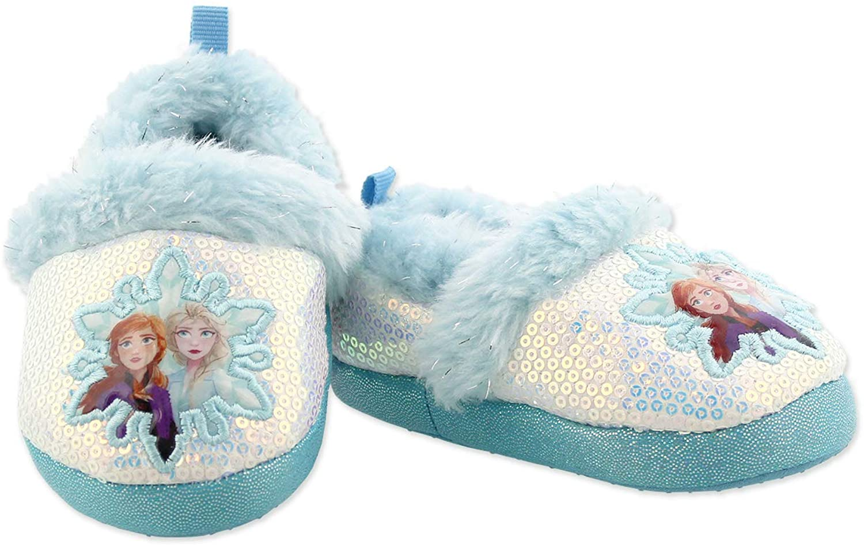 Disney Frozen 2 Elsa Anna Slippers A-Line Popularity Plush Toddler Girls Lowest price challenge