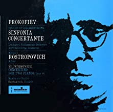 Prokofiev: Sinfonia Concertante / Shostakovich: Concertino for Two Pianos