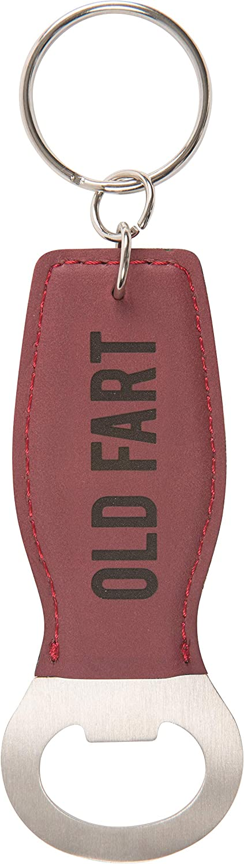 Pavilion - Old Fart - Red Bottle Opener Key Chain
