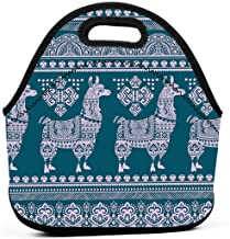 Alpaca Clip Art Original Lunch Box Insulated Lunch Bag - Tough & Spacious Adult Lunchbox to Seize Your Day