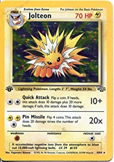 Best 1st edition dark jolteon Reviews