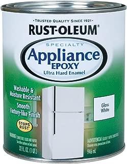 Rustoleum 241168 Quart White Appliance Epoxy Paint