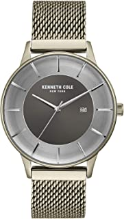 Kenneth Cole Men's GUN Dial Stainless Steel Band Watch - KC50113001