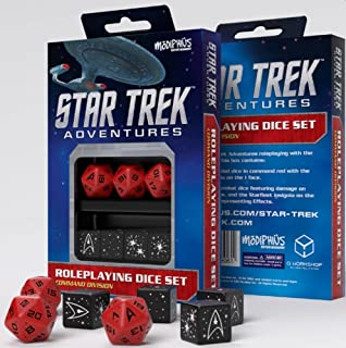 Star Trek Adventures Dice Set - Command Red