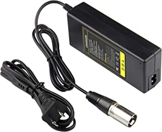 ARyee 36V 1.5A Scooter Battery Charger for Razor MX500 MX650 Dirt Rocket GT GT750 IZIP I600 I750 I1000 Mongoose M750 X-Treme X-600 Schwinn S600 S750 S1000 ST1000 Stealth X1000 Power Supply