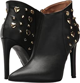 LOVE Moschino Studded Ankle Bootie Stiletto Heel
