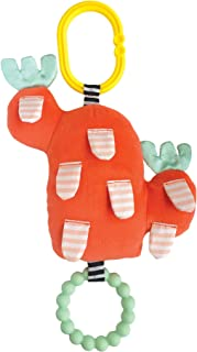 Manhattan Toy Cactus 花园花朵 + Bite 无 Bpa 婴儿玩具,带硅胶牙胶 0 months to 24 months 牙胶