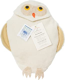 Maine Warmers Owl Microwave Body Warmer - Corn Filled Heating Pad - Heat or Freeze!
