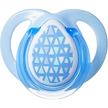 Blue Green Tommee Tippee Urban Style Soother 6-18 Months