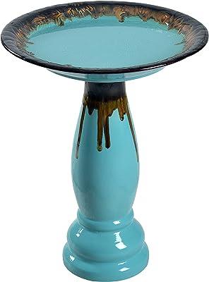 Kenroy Home 51085TG Brandy Fountains, Teal Glaze