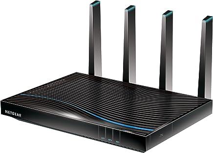 "Netgear""Nighthawk X8"" AC5300 Tri-Band Gigabit WiFi Modem Router, Black, D8500-100AUS"