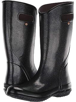 womens sparkle rain boots