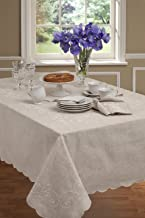 Bardwil Lenox French Perle Tablecloth 60 X 84