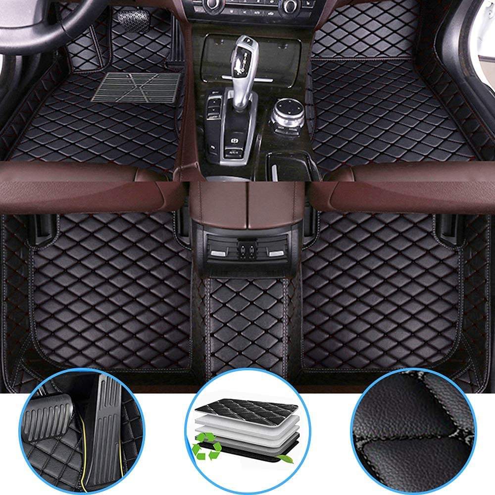 Car Floor Mats Fit for Buick PU 2009-2015 New sales Year-end annual account Lacrosse Leather All