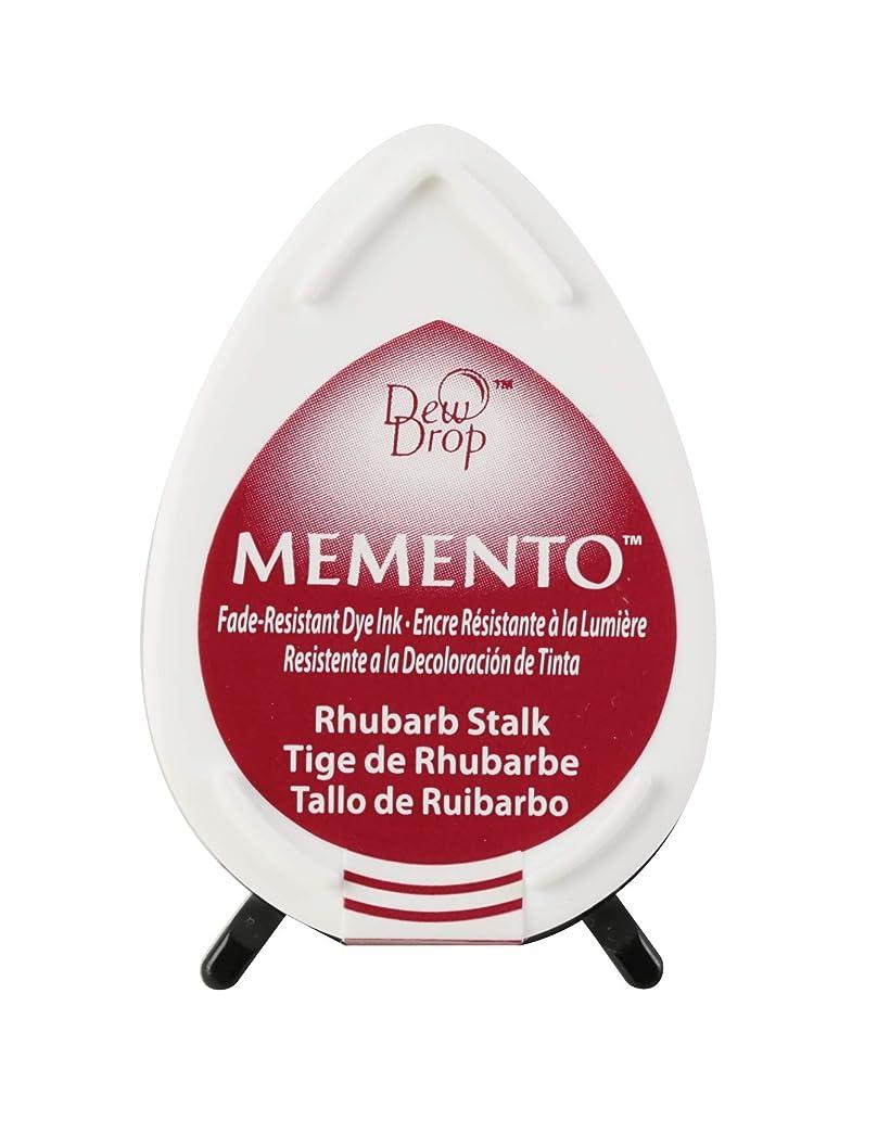 Tsukineko Memento Dew Drop Fade Resistant Inkpad of All Kinds, Rhubarb Stalk