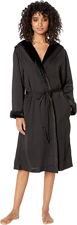 Robe w/ Faux Fur Lining