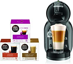 DOLCE GUSTO MINI ME COFFEE MACHINE BLACK + CAPSULES BUNDLE