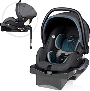 SafeZone and Load Leg Base LiteMax DLX Infant Car Seat with FreeFlow Fabric