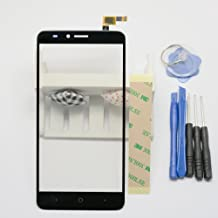 Eaglestar for Outer Screen Glass Digitizer Touch Screen Replacement for ZTE Blade X Max Z983 6.0+ Tools & Tape (NO LCD)